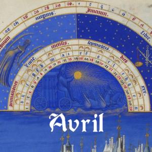 Horaires du mois d'Avril