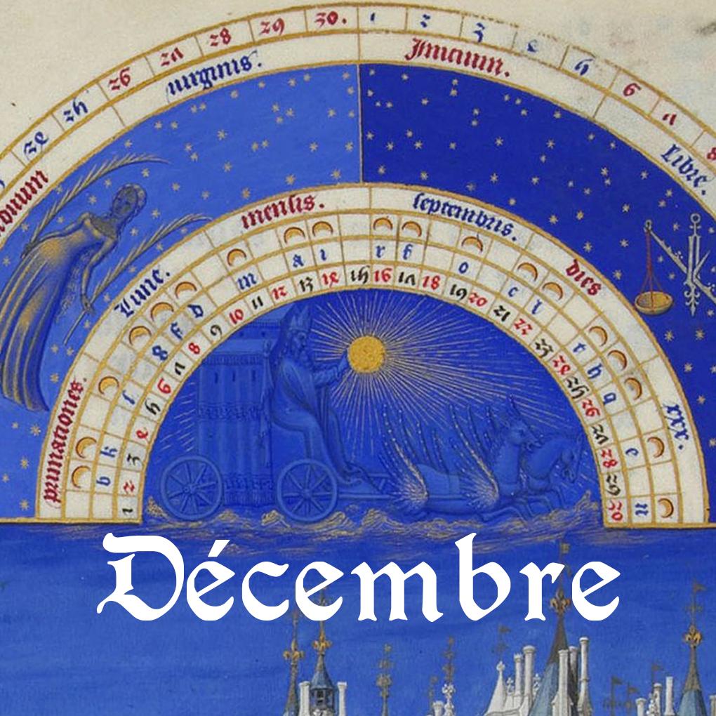 Programme du mois de décembre 2018