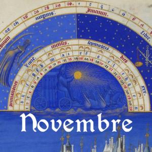 Programme du mois de novembre 2018