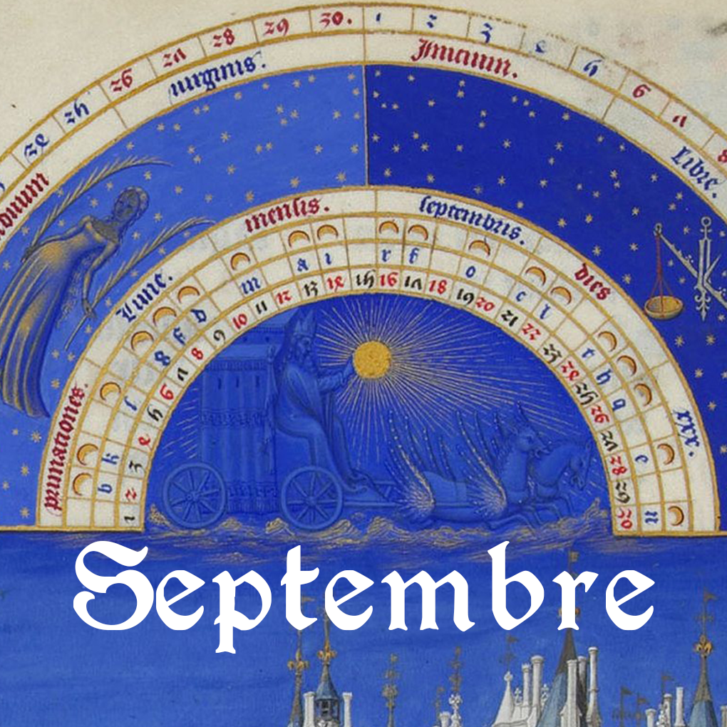 Programme du mois de septembre 2018